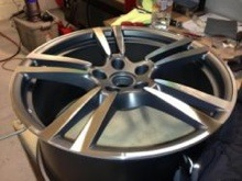 Full Alloy Wheel Refurbishment