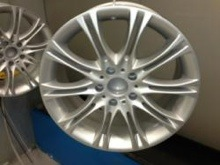 Typical Example of Alloy Wheel Refurbishment